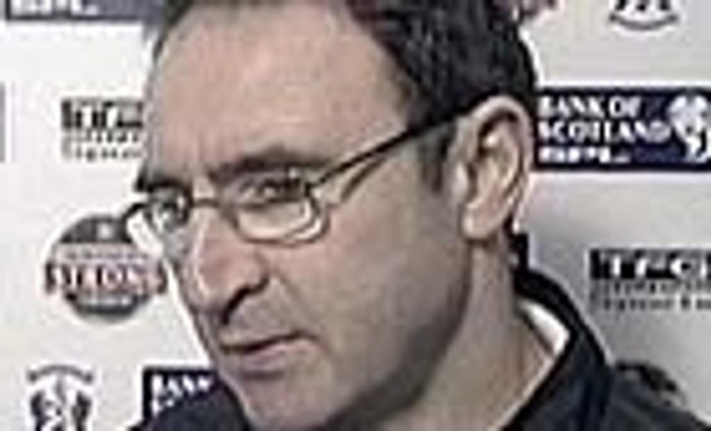 Aston Villas nye manager, Martin O`Neill .