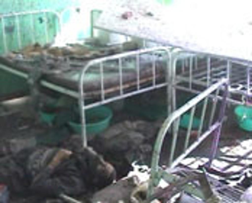 al-qaida-soldat, sykehuset i Kandahar, Afghanistan