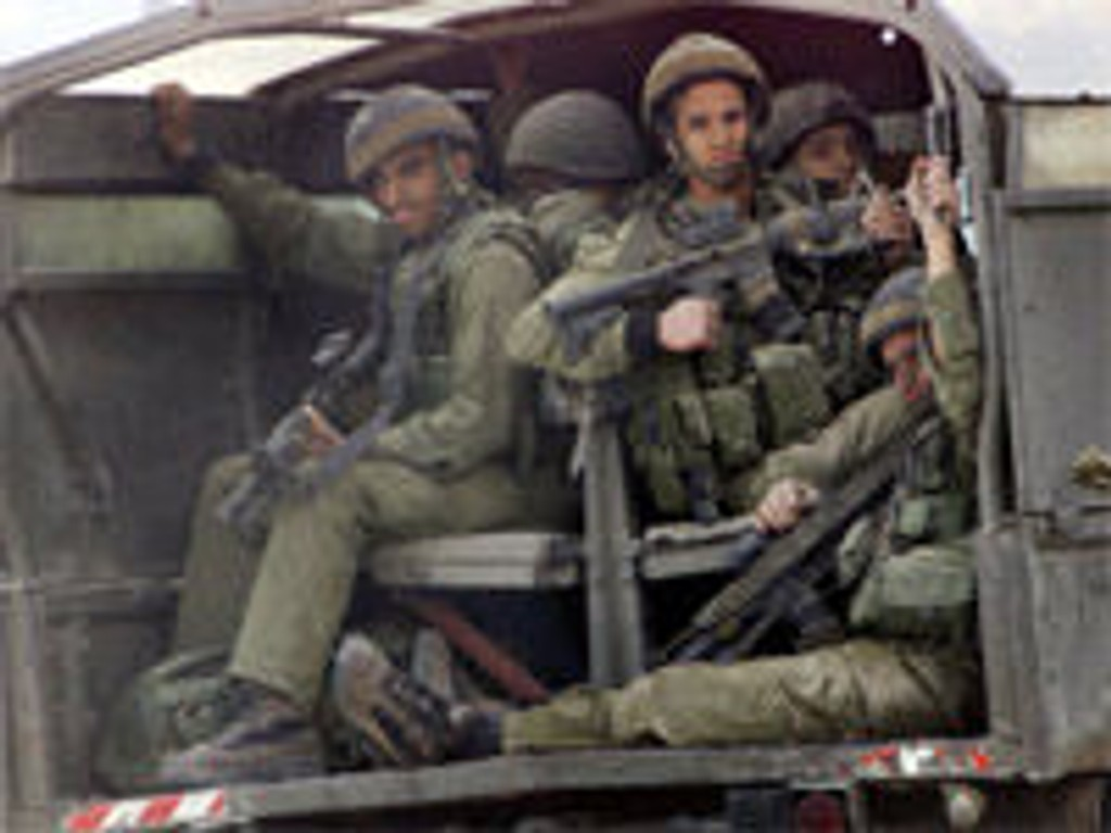 Nablus, Israel, gjenokkupering