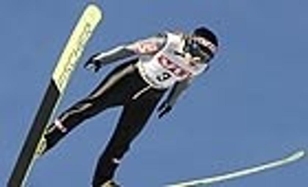 Kvinnelig skihopper