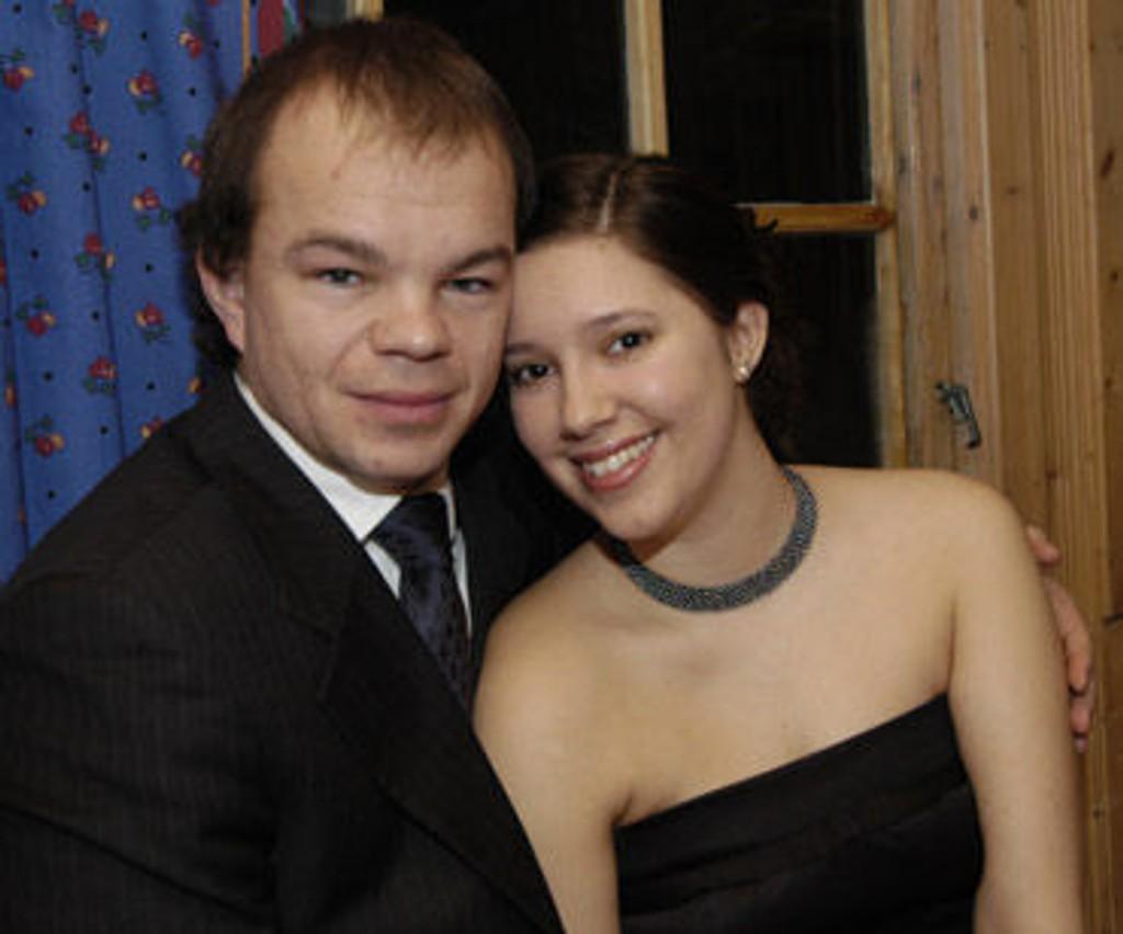 Erlend Saxegaard og kjæresten Heidi Røsok