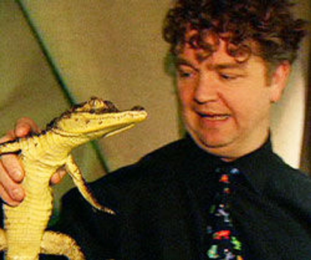 Krokodille, ulovlig importert til Norge, Akvariet i Bergen, Stig Sægrov, direktør, Akvariet i Bergen