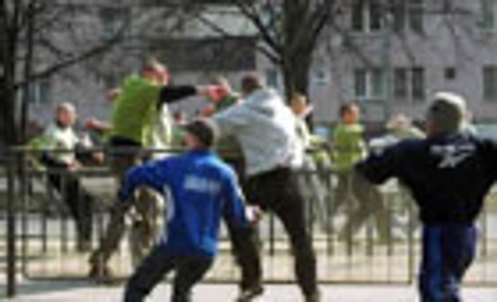 Engelske hooligans i bråk ved en tidligere anledning