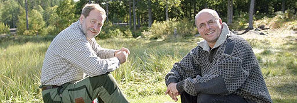 - Jeg var i ferd med å dø, forteller NRK-veteran Hans-Gunnar Skarstein.