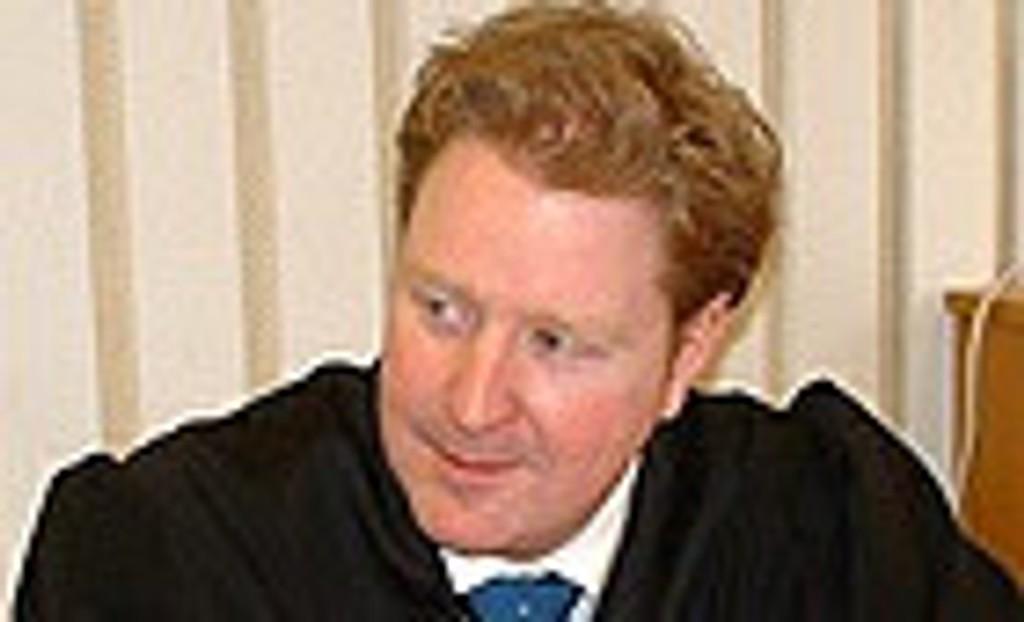Statsadvokat Hans Jørgen Bender fører saken for påtalemyndigheten.