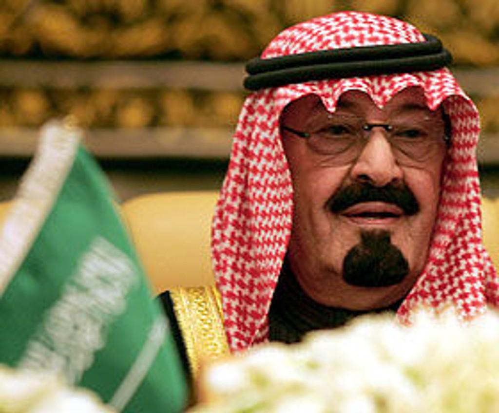 Saudi-Arabias kong Abdullah