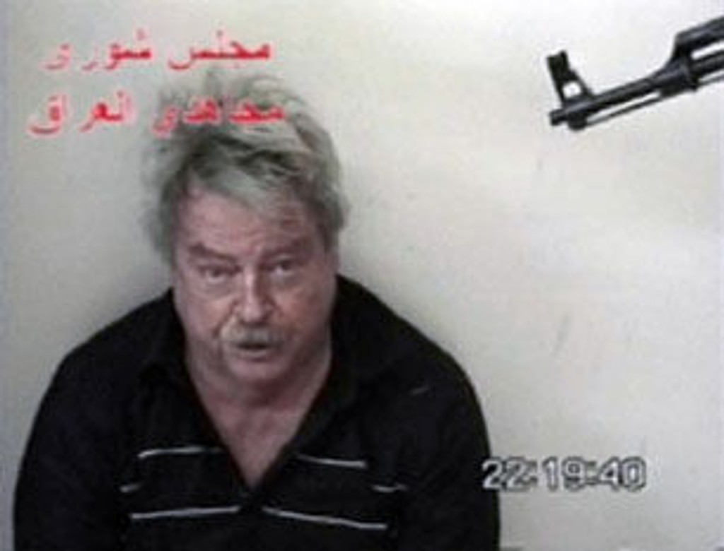 Douglas Wood kidnappet i Irak