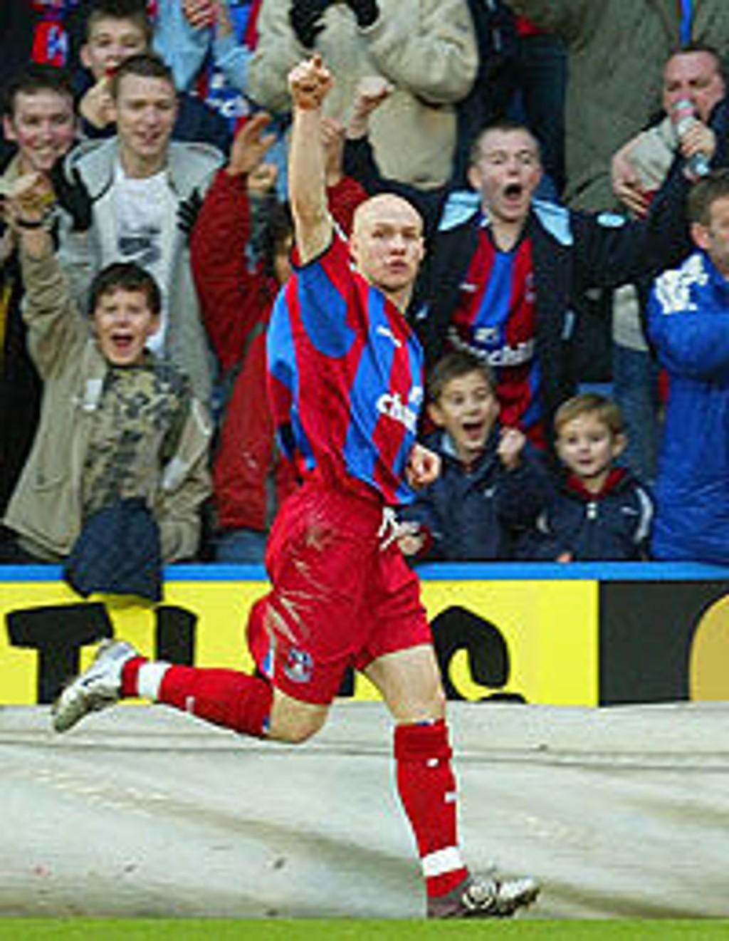 Andy Johnson, Crystal Palace.