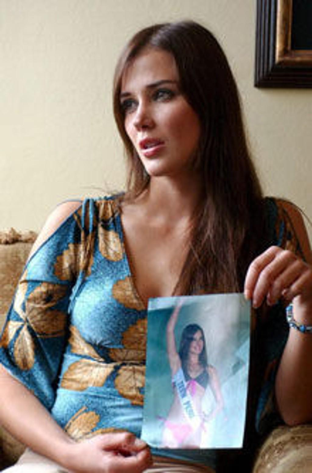 Miss World Maria Julia Mantilla