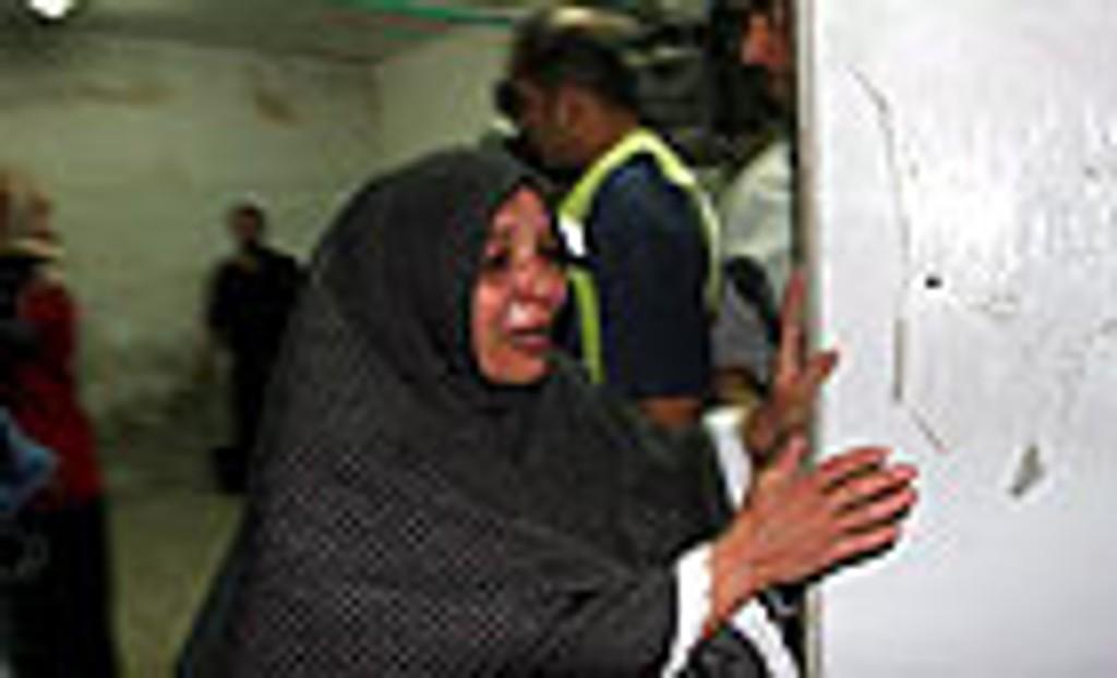 Søsteren til den en av palestinerne som ble drept i flytningeleiren Balata i byen Nablus fredag.