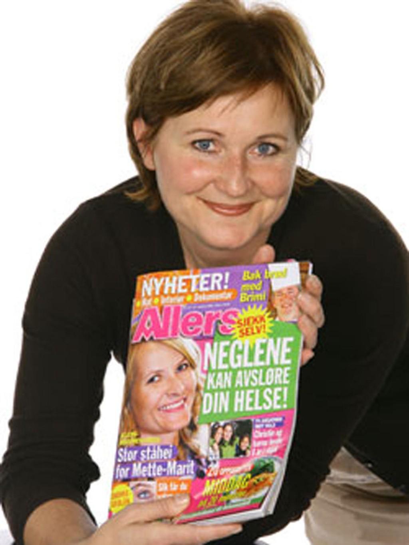 Påtroppende sjefredaktør i Allers, Elisabeth Lund-Andersen