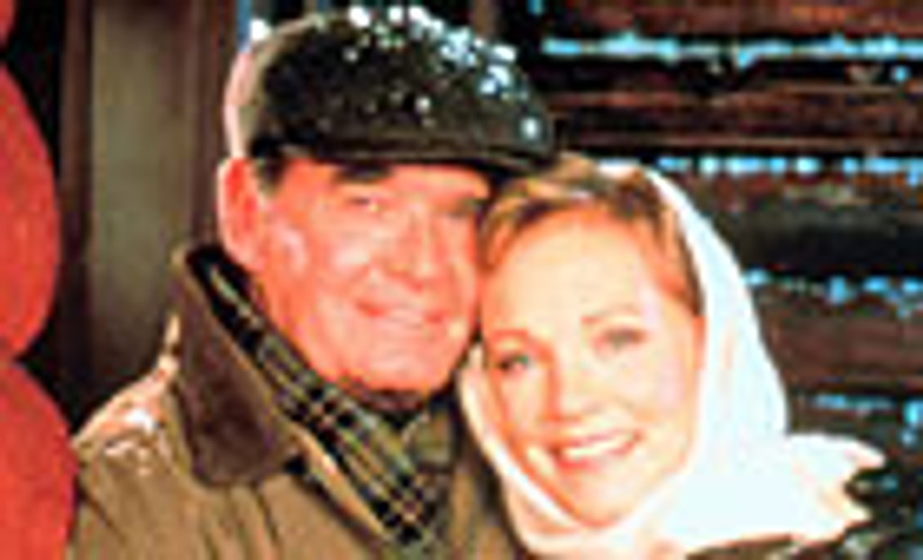 James Garner og Julie Andrews.