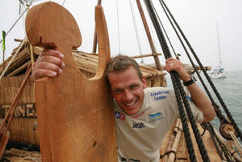 Torgeir kan endelig senke skuldrene og smile. Flåten er underveis!