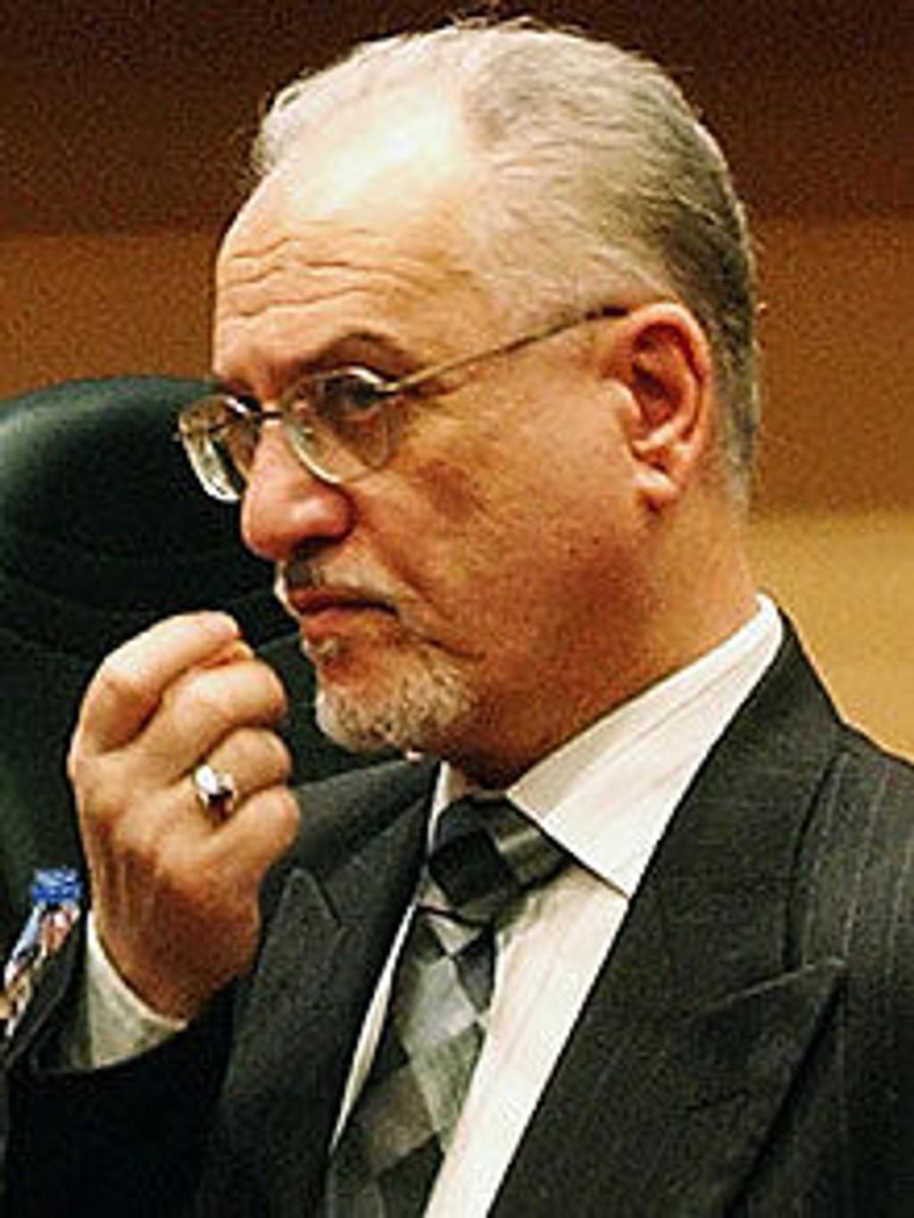 Iraks oljeminister Hussain al-Shahristani