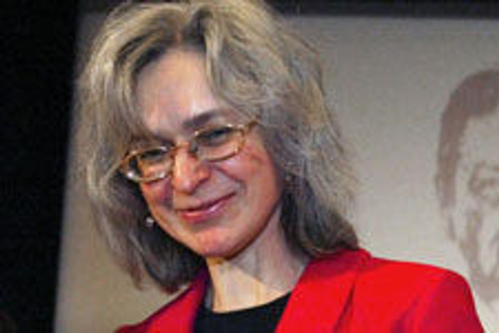 Anna Politovskaja ble drept utenfor sitt eget hjem.