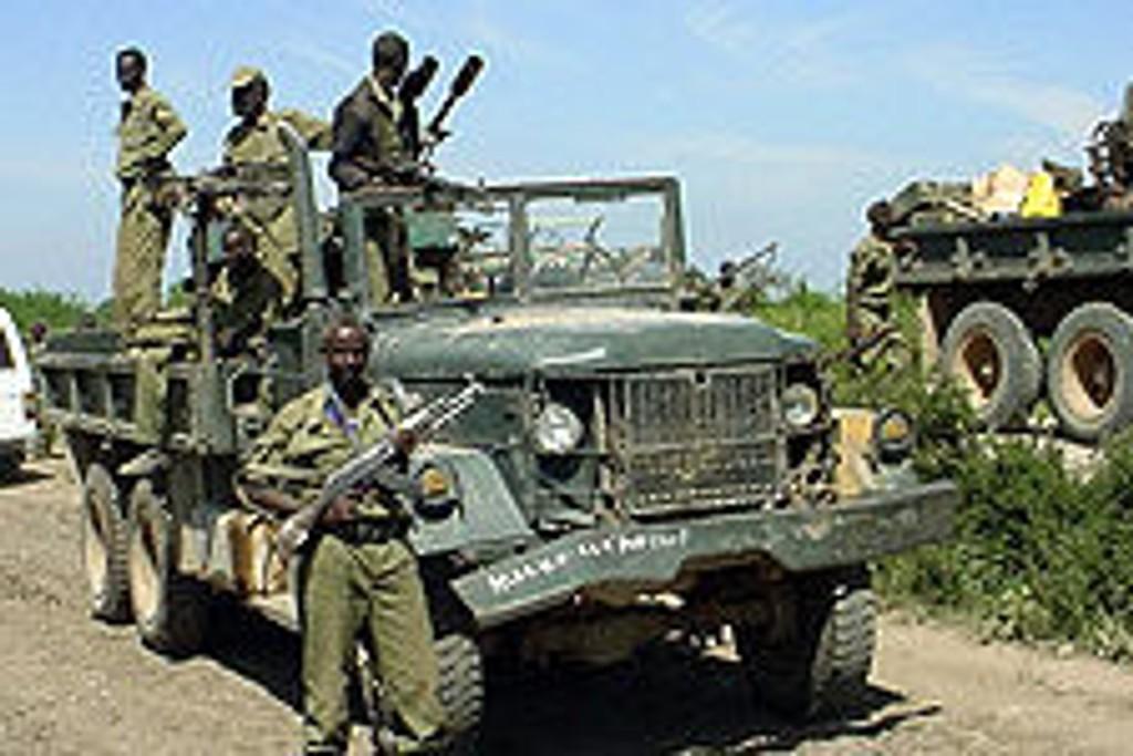Somaliske regjeringsstyrker