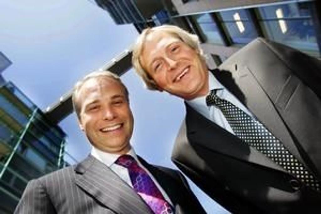 Altinex konsernsjef Olaf Ellingsen og styreleder Brian Jebsen