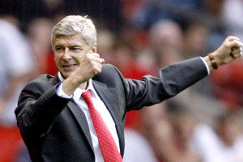 Arsenal-manager Arsene Wenger lyktes ett hundre prosent med taktikken mot Blackburn.