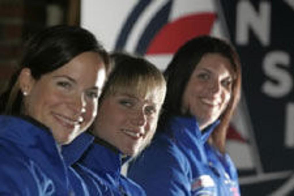 Siren Sundby, Lise Birgitte Fredriksen og Alexandra Koefoed har bestemt seg for å gi gass mot OL i Beijing 2008.
