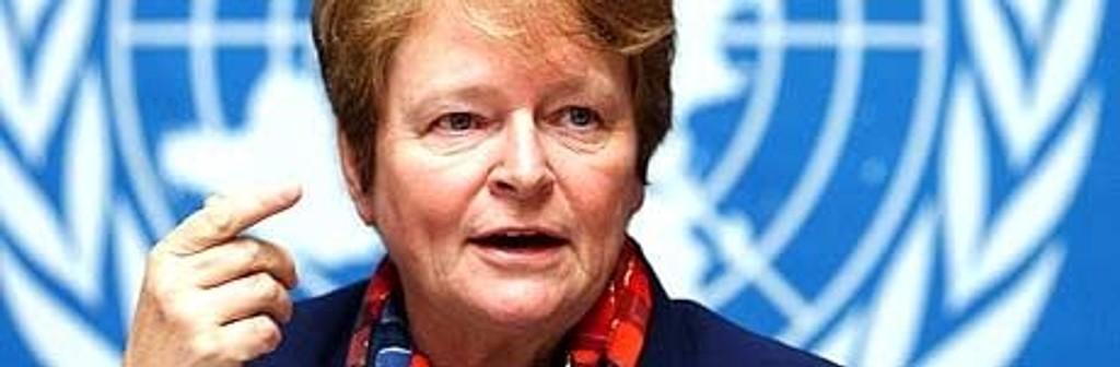 Gro Harlem Brundtland, WHO, full bredde 460x150