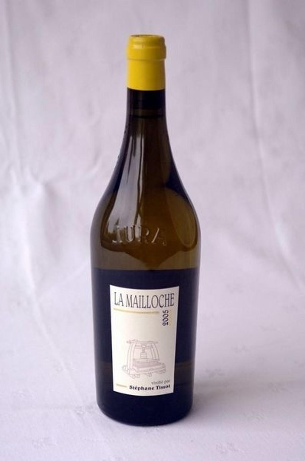 TIL HØNS: Chardonnay la Mailloche 2005.