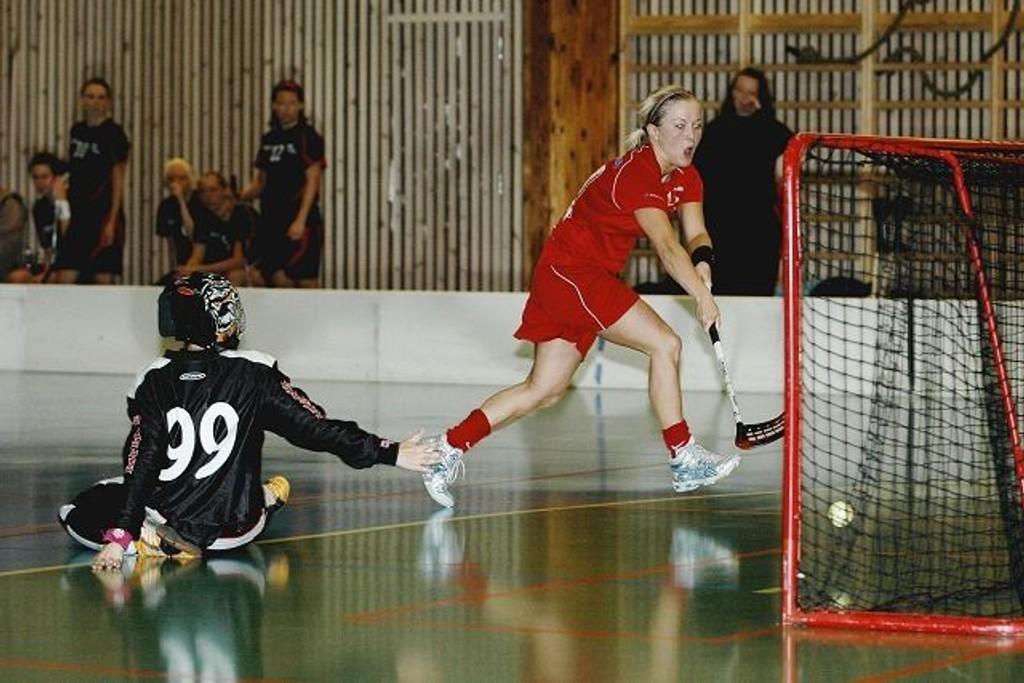 Måltyv: Tytti Joronen scoret fire mål mot Målløs