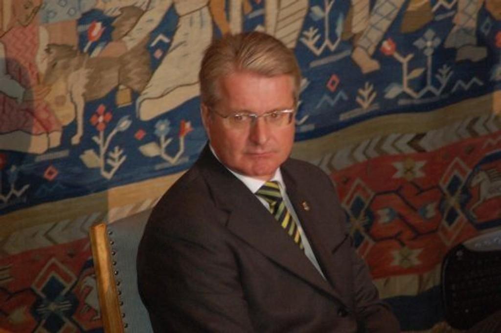 Fabian Stang (H) er Oslos nye ordfører.