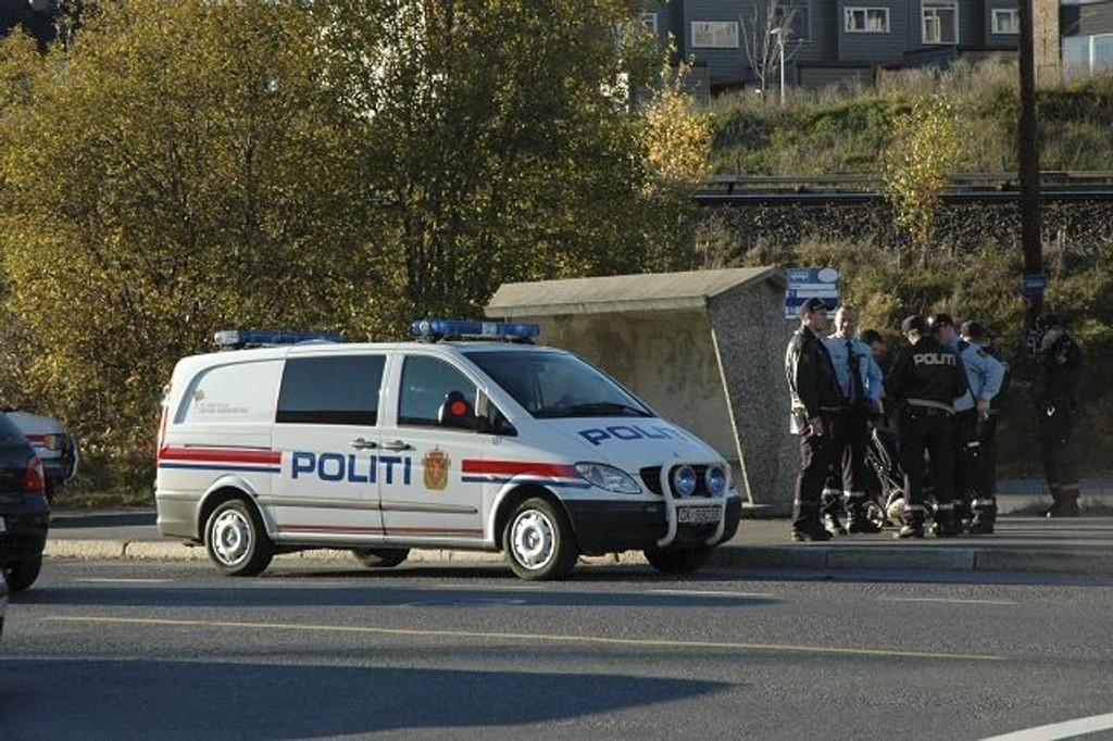 En pågrepet: Politiet har foreløpig pågrepet en person etter slåsskampen, men vil etterforske saken videre.
