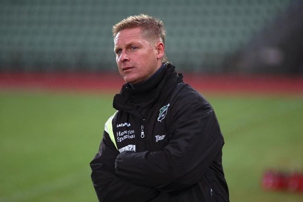 Gammel helt: Kjell Sverre Hansen Wold har vært i Skeid i mange år. Nå trener humørsprederen Hønefoss.
