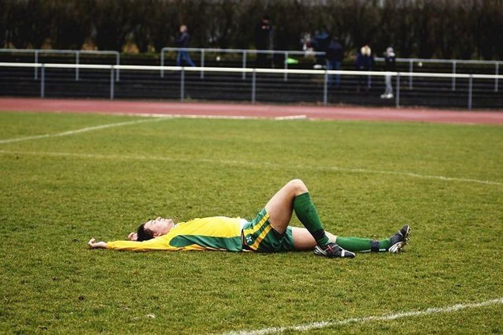 Utslått: Manglerud Star tapte årets siste seriekamp 2-1 mot Vard Haugesund, og må spille i 2. divisjon også neste år. MS-stopper Boye Sørensen er ikke fornøyd med det.