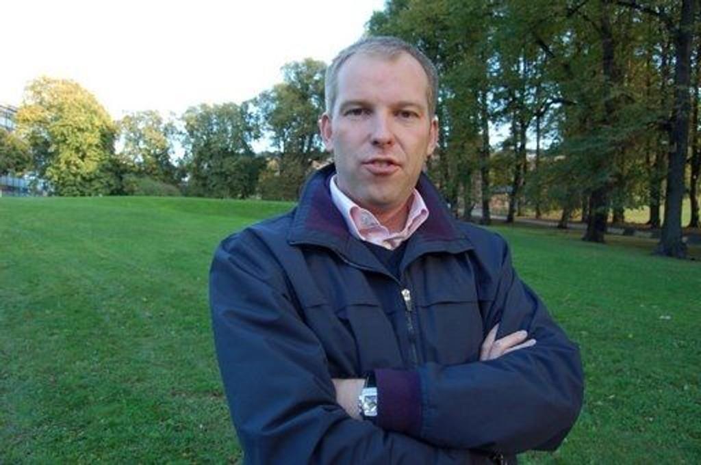 Bystyremedlem Håkon Haugli (AP).