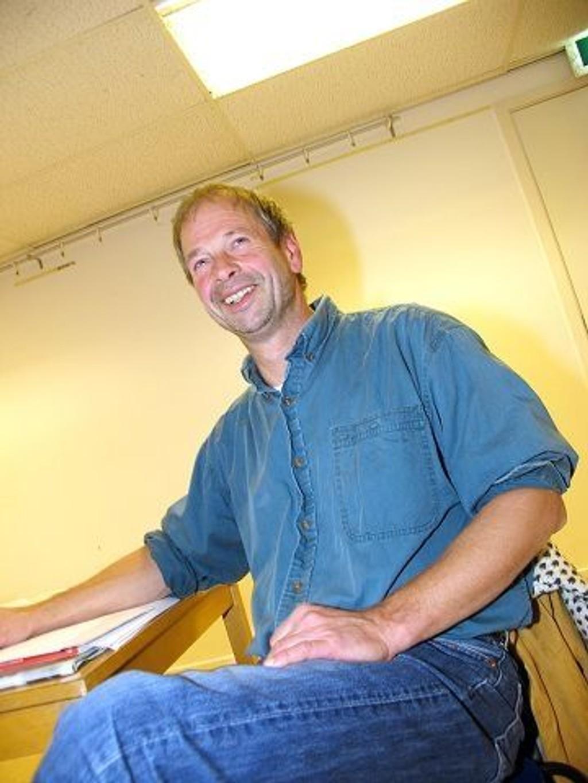 Norden: Foredragsholder Torbjørn Dahl leder foreningen For Et Fritt Norden her i Norge.