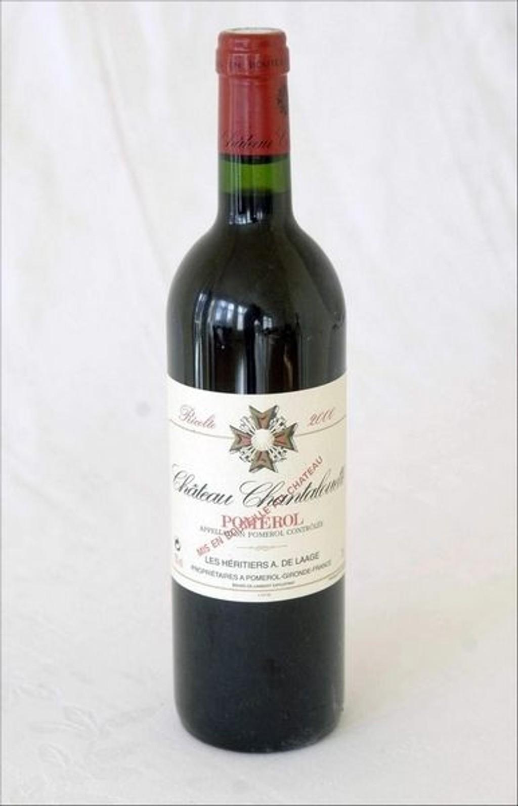 VIN: Ch. Chantalouette 2003, Pomerol, Bordeaux, Frankrike.