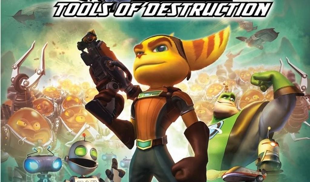 ANMELDT: Ratchet & Clank: Tools of Destruction.