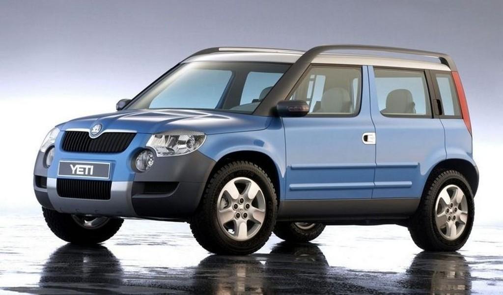 SUV: Yeti, en crossoverliknende Skoda-SUV, dukker opp høsten 2009. (Foto: APB)