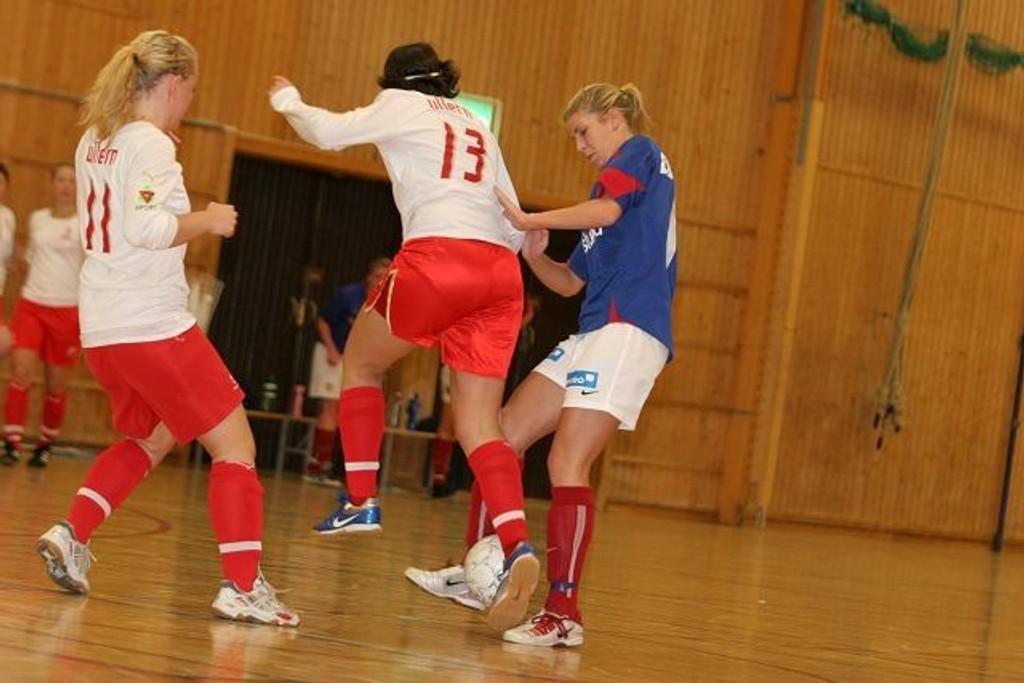 Scoret: Camilla Brostigen scoret begge målene da Vålerenga slo Ullern 2-0 i KM.