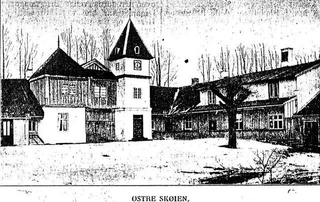 """""""Østre Skøien"""" som i dag kalles """"Nordre Skøyen"""" er et av klenodiene i Østensjø bydel."""