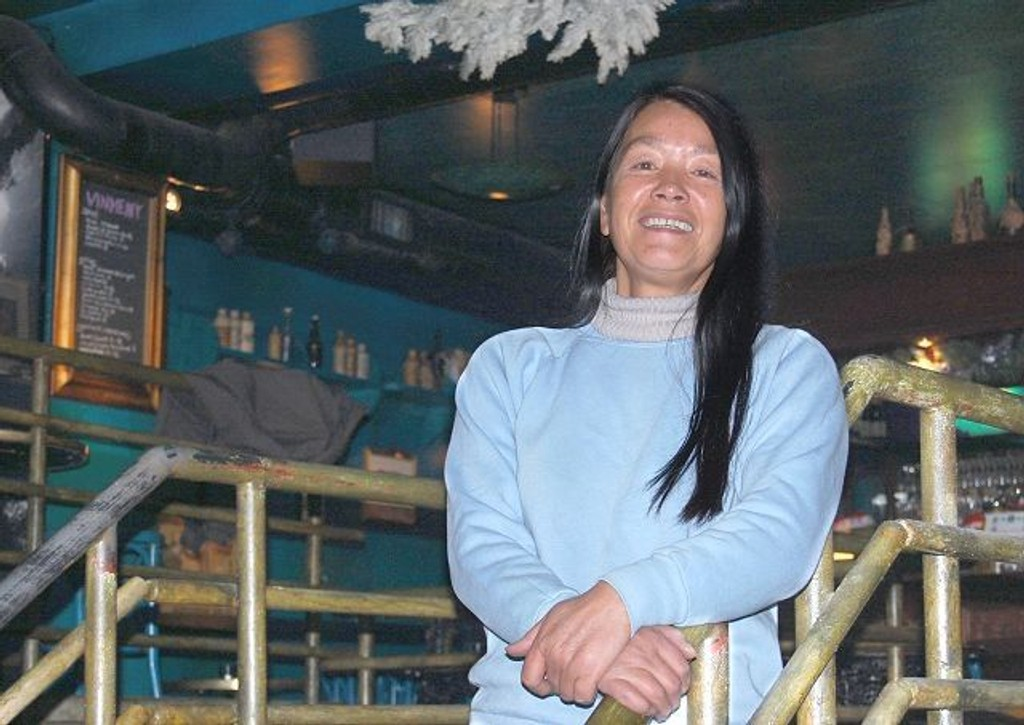 Daglig leder for Underwater Pub i Dalsbergstien gjennom 17 år, Margaret Herron, har jobbet med filmstorheter som Coppola og Lucas.
