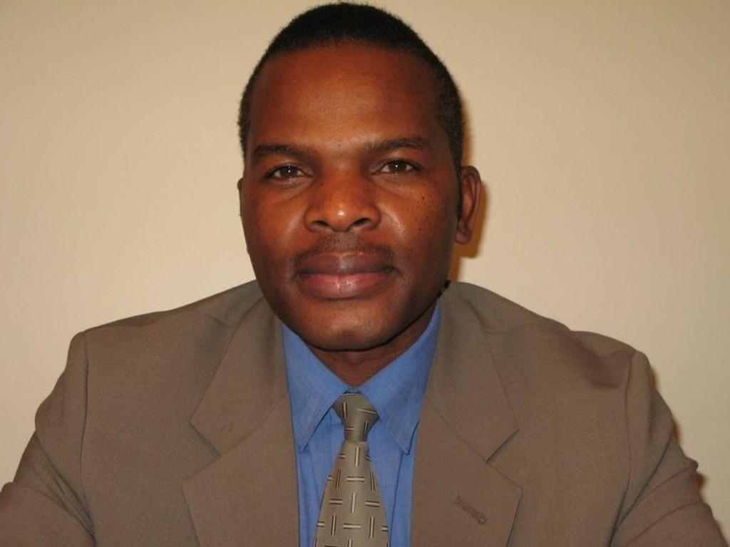 KrF-politiker Fredrick O. Makosir. (Vi selger kun egne bilder.)