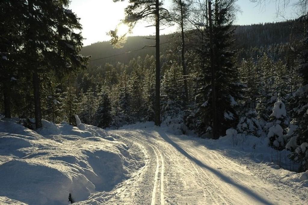 I helgen kan du spenne på deg skiene.