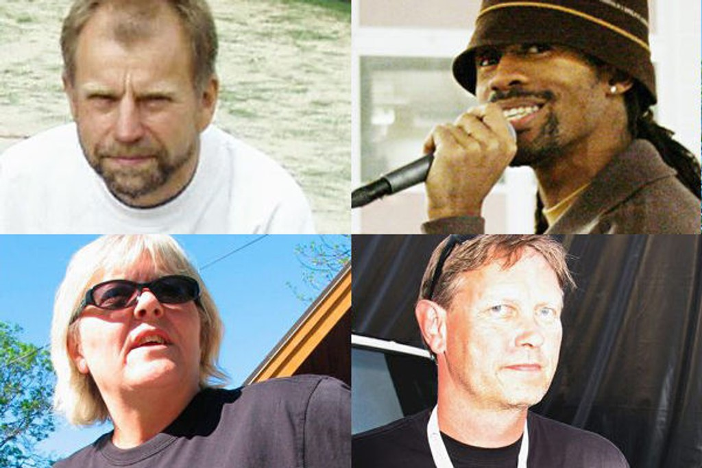 En av disse blir Årets navn i Groruddalen 2007: Norvald Mo, Tshawe Baqwa, Inger Seim eller Rune Madsen.