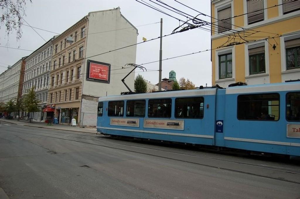 Oslo t-banedrift hadde en trafikkvekst på rundt 5 prosent i 2007.