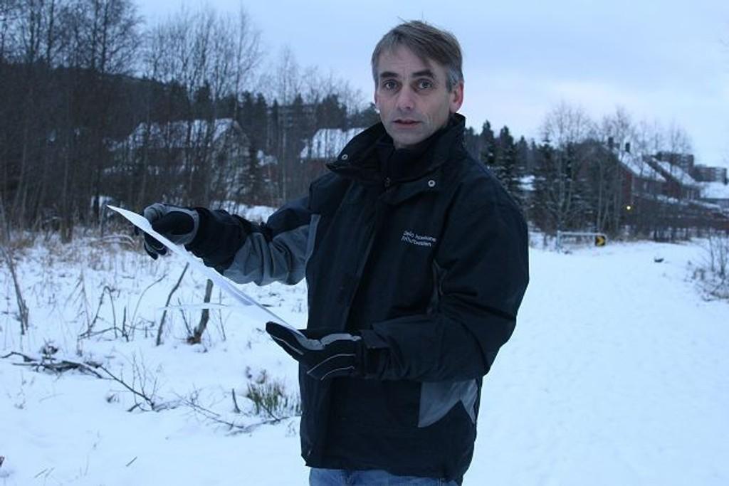 Prosjektleder i Friluftsetaten, Trond Enkerud.