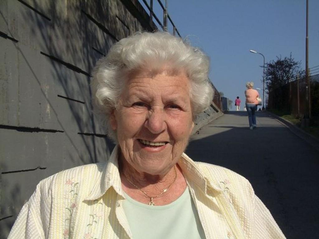 Årets Ildsjel: Rigmor Andresen (85) fra Karlsrud. Arkivfoto