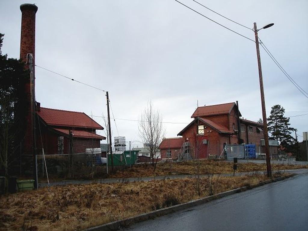 Den norske Eterfabrikk på Bøler.