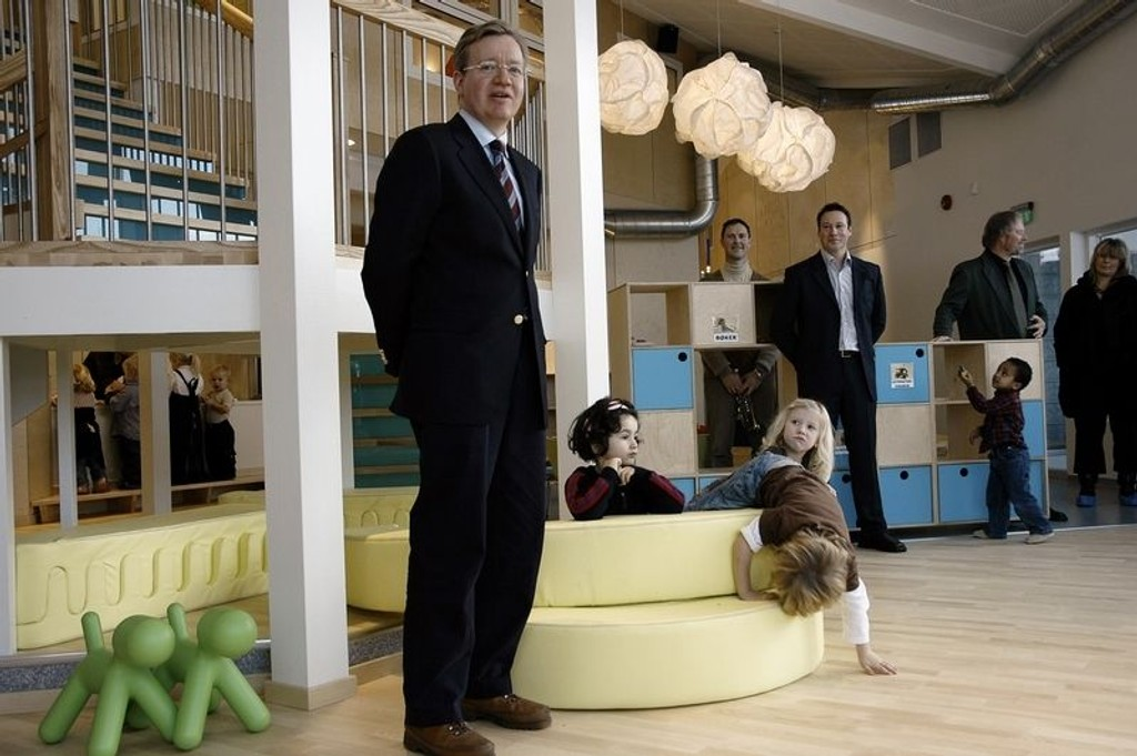 Barnehagebyråd Torger Ødegaard (H)