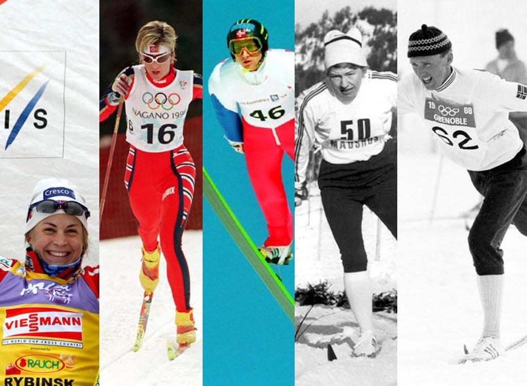 Astrid U. Jacobsen, Trude Dybendahl, Espen Bredesen, Berit M. Lammedal og Odd Martinsen er noen av kandidatene du kan stemme på.