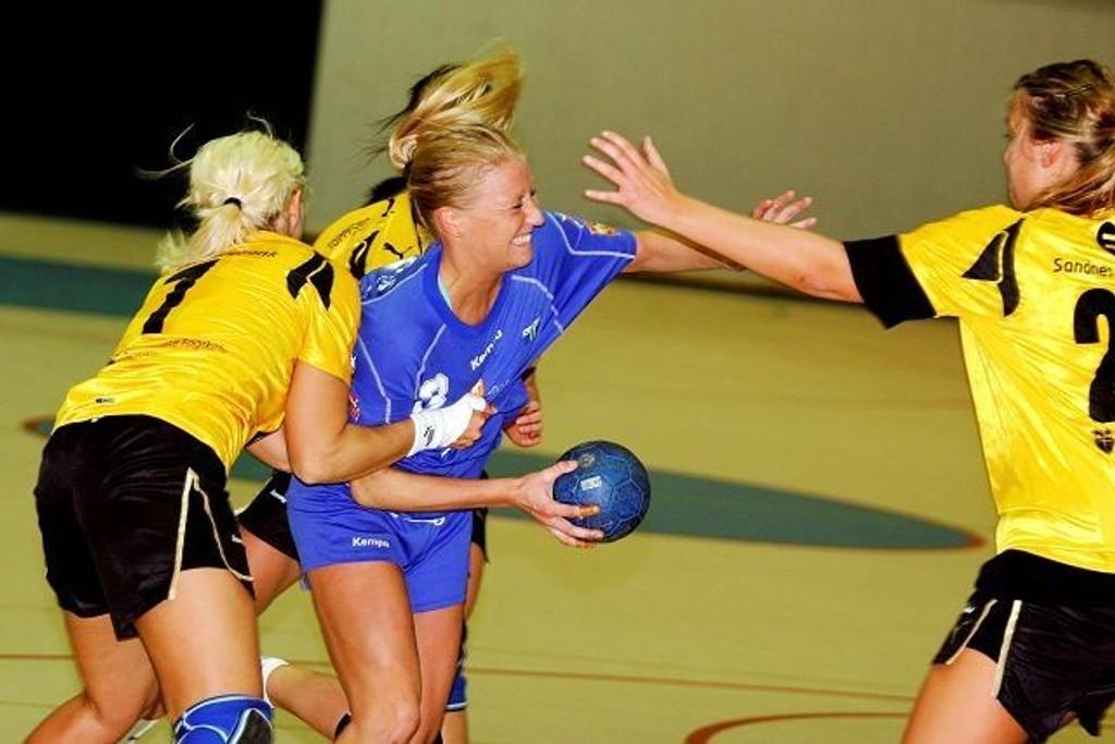 Toppscorer: Sara Trier Jacobsen scoret fem mål for Njård mot Varhaug.