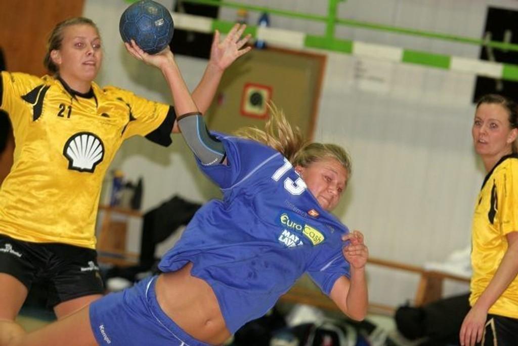 To mål: Ida Doornbos scoret to mål da Njård tok sin sjette strake seier.