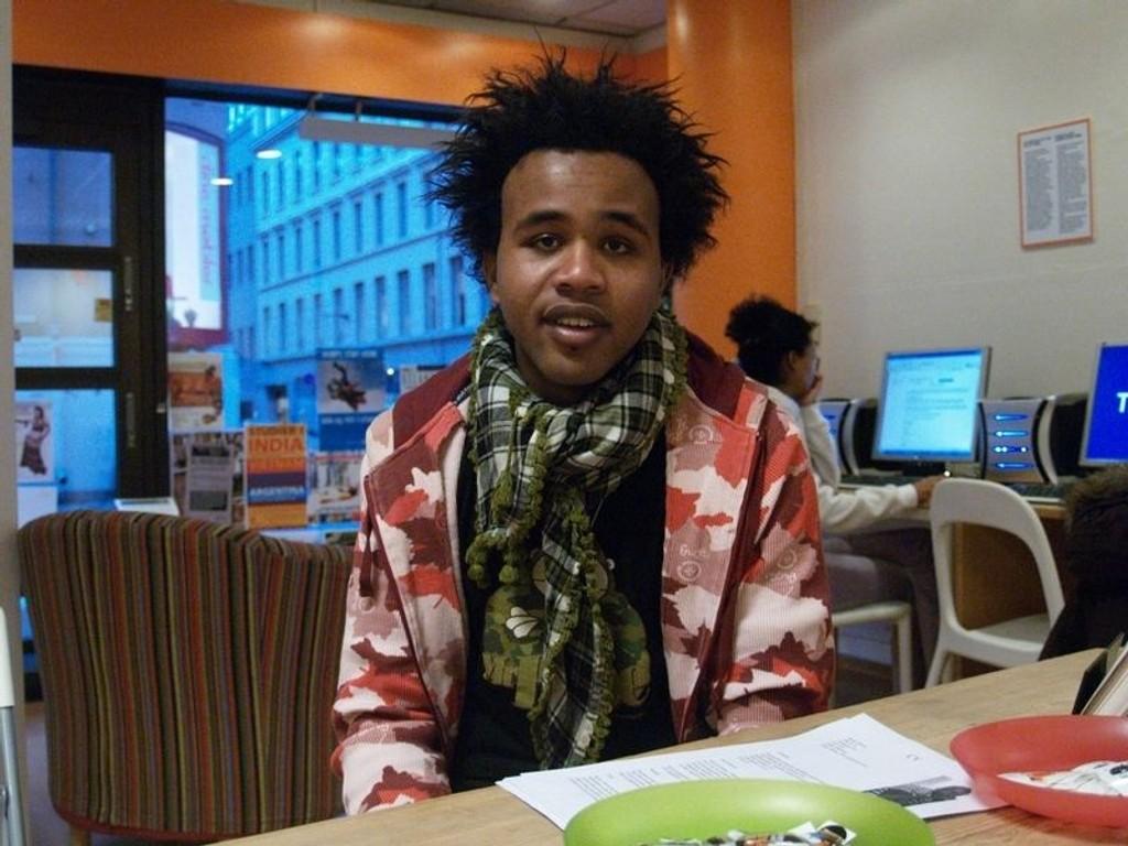 Hassan Hilowle møtes av rasistiske holdninger på boligmarkedet. FOTO: HEGE BJØRNSDATTER BRAATEN